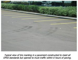 Layer 1Tire Scuffing and Indentations - A-Pak Paving - Northern Virginia
