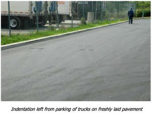 Layer 3Tire Scuffing and Indentations - A-Pak Paving - Northern Virginia
