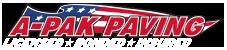 A-Pak Paving Logo